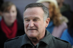US actor Robin Williams arrives for the